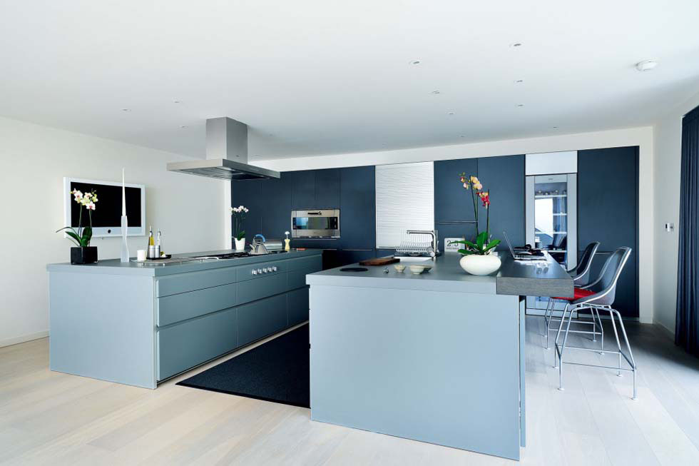 Good Bulthaup Kitchen Island Part - 14: This Bulthaup Kitchen Has A Smart, Twin-island Layout With Gaggenau And  Miele Appliances