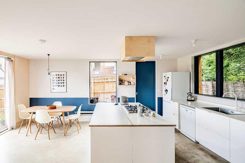 Minimalist IKEA kitchen