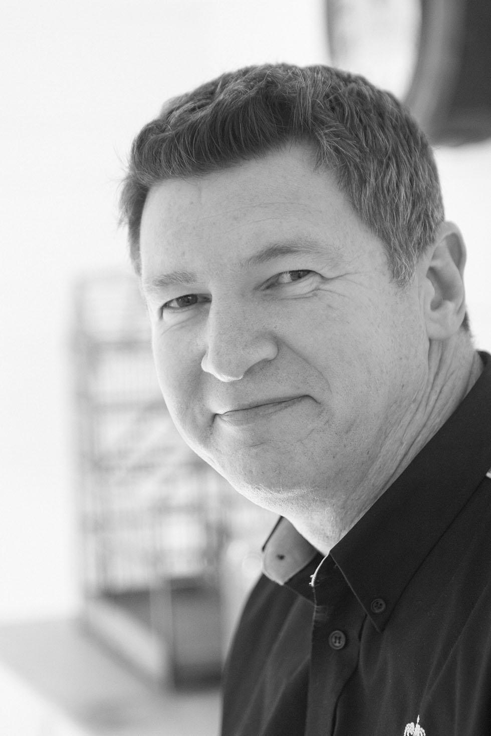 Declan Walsh - MD at Morsø (b&w)