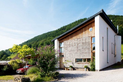 fossil fuel free home in Wales