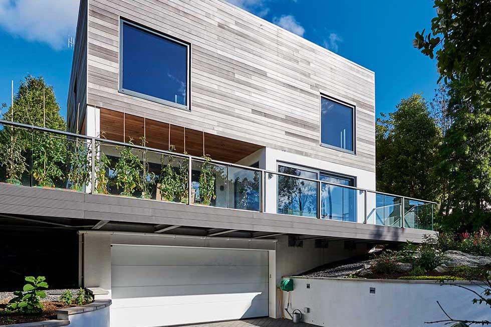 Potton contemporary self designed home
