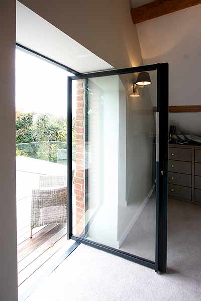 pivoting patio doors IQ Glass