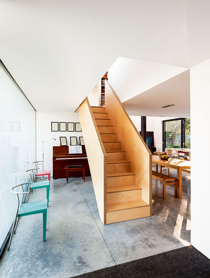 timber staircase contemporary