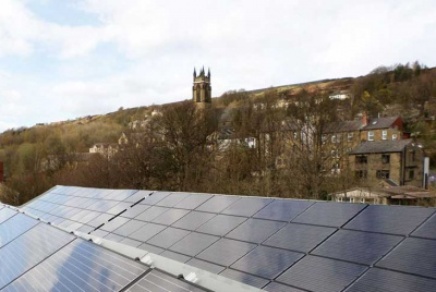 Solar PV system installed by Leeds Solar