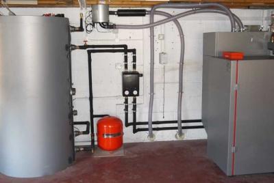 Viessmann Vitoligno Biomass Boiler heating system