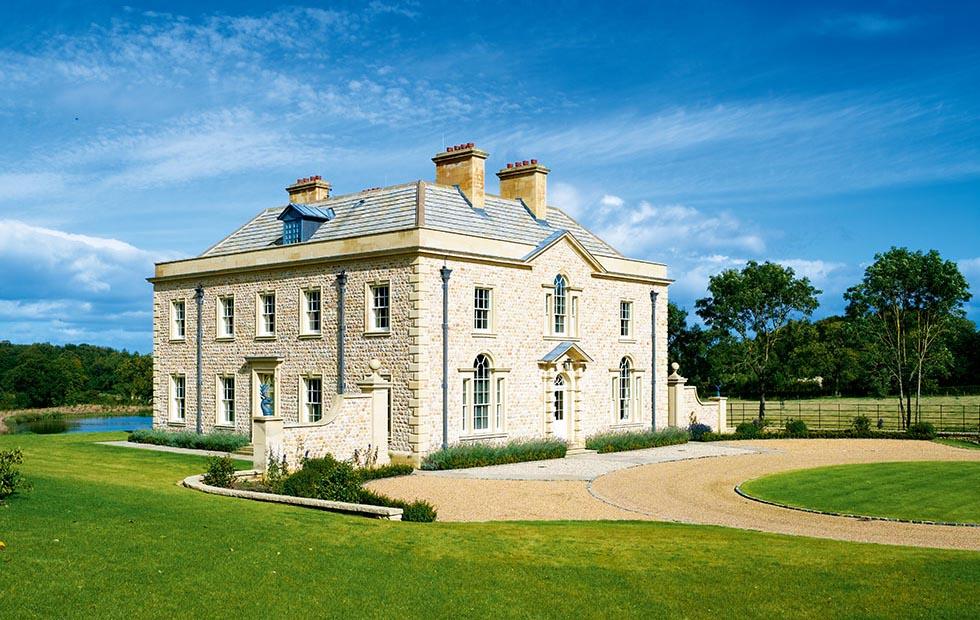 modern stately home self build mansion