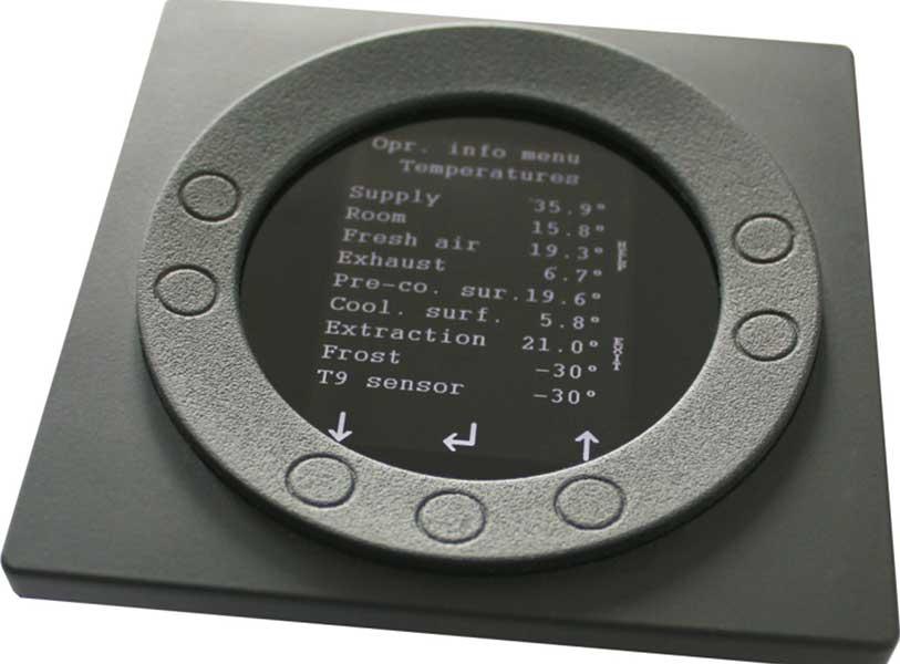 Genvex ventilation controller
