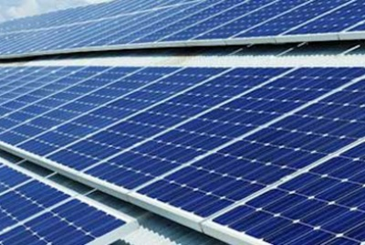 Solar PV panels capture solar energy to generate electricity which can be used to power appliances in the home.