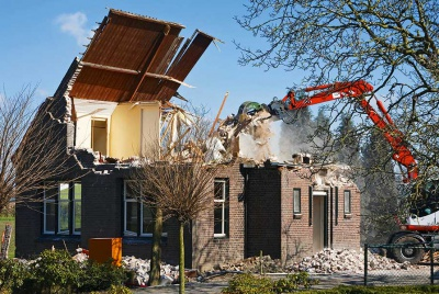 demolish a two storey house