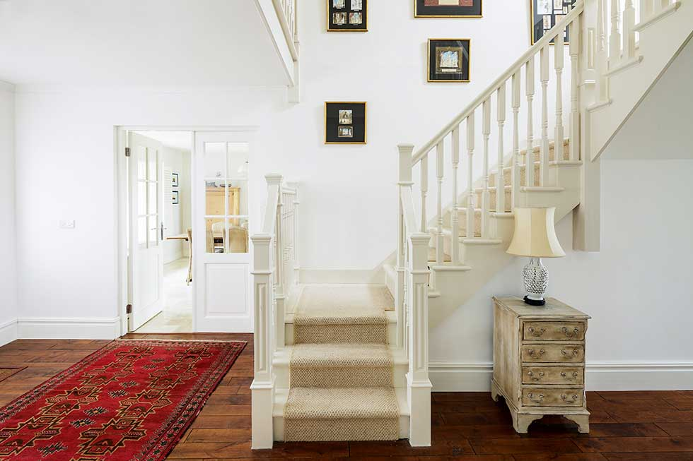 American-style self build staircase