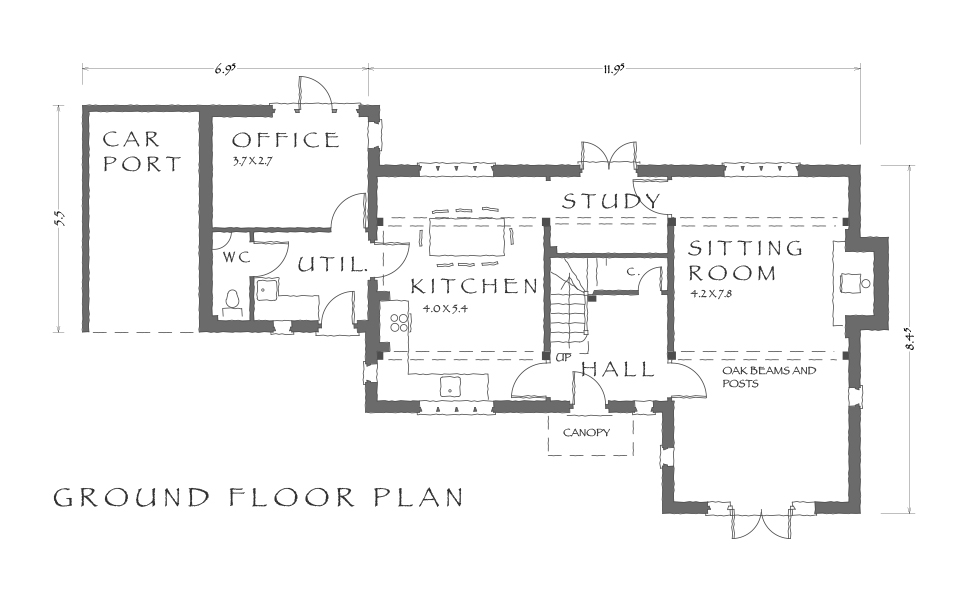 Home for life ground floor plan design
