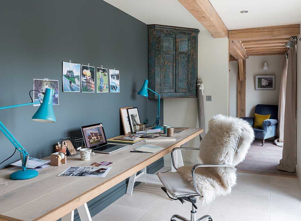 Home for life open home office design