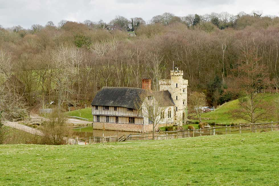 self build medieval style manor house