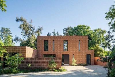 brick house facade tompkins house