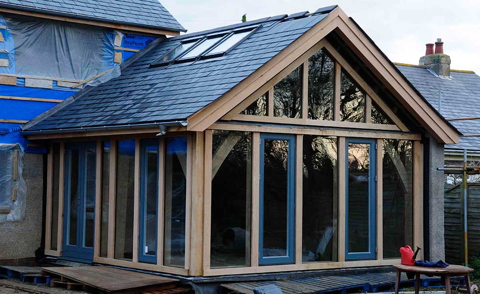 Fixed Oak Glazing Homebuilding Amp Renovating
