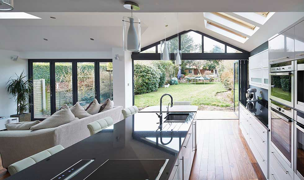 origin kitchen case study aluminium windows