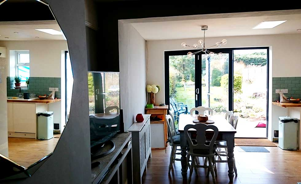 Our Kitchen Diner And Lounge Reveal Homebuilding Amp Renovating