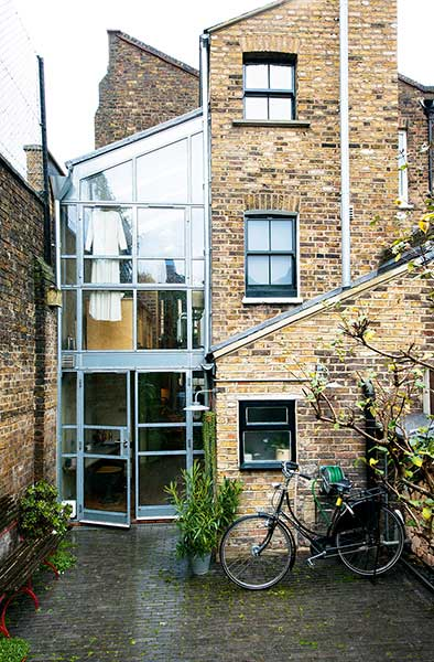 glazed london extension rear exterior