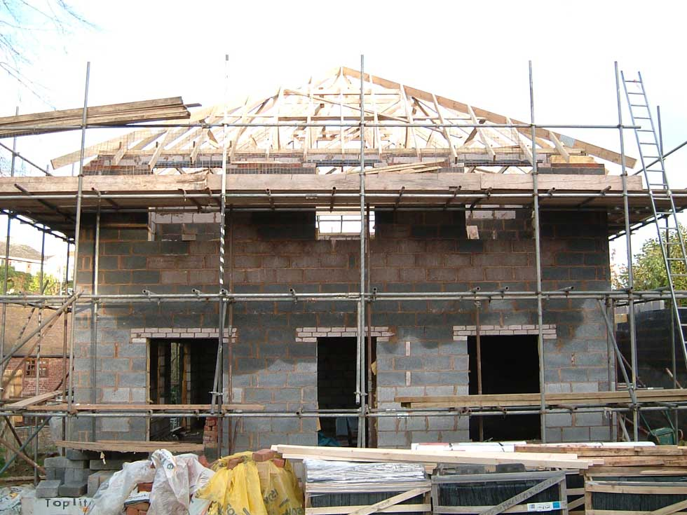 Self Build Schedule - The Roof