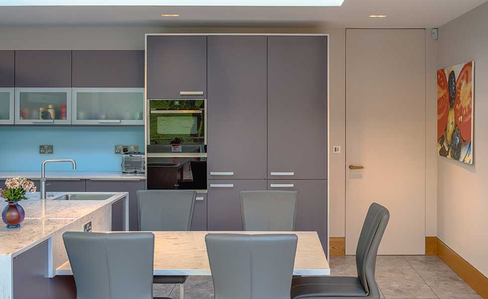 Concealing Door Frames Is A Clever Home Design Idea For Creating A Seamless  Finish