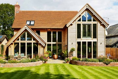 right to build your own home such as this timber frame self build