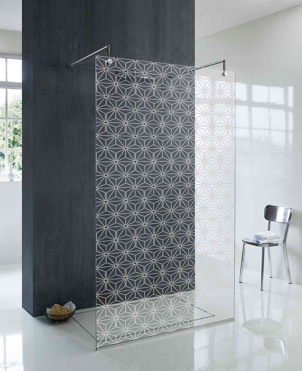 oslo walk in bathroom shower screen