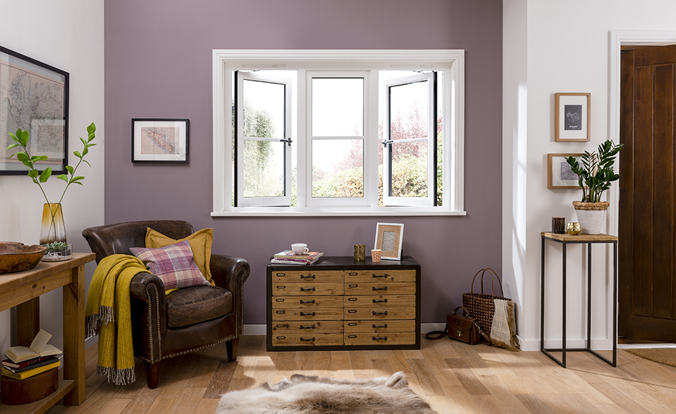 casement window style in traditional home