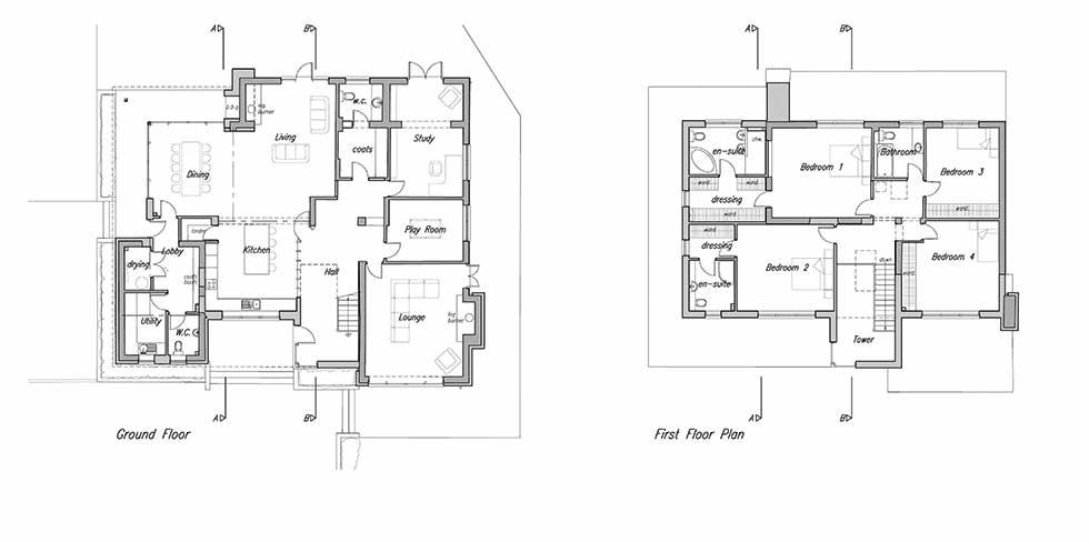 floorplan for Jason's remodel