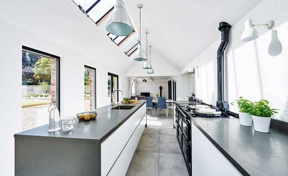 Kitchen Diner In Cottage Extension