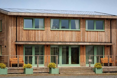 ty solar house in wales a three bedroom timber clad house run on solar power
