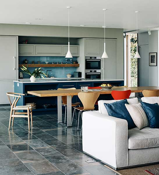 Small Open Kitchen Living Room Open Concept Kitchen Floor: 20 Of The Best Open Plan Kitchens