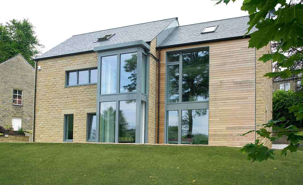 A striking contemporary Passivhaus