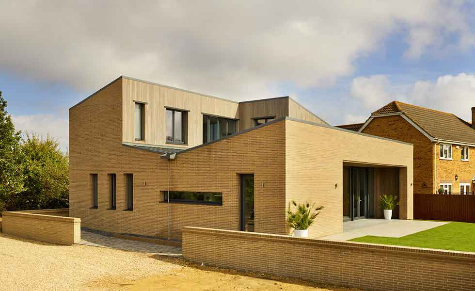 This stylish Passivhaus was designed by Potton as one of their show homes
