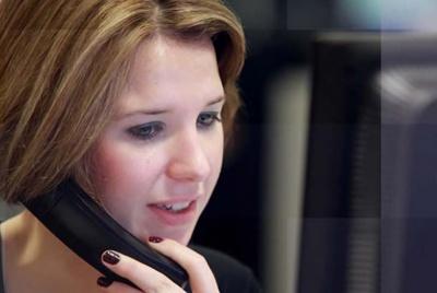 fscs lady on phone