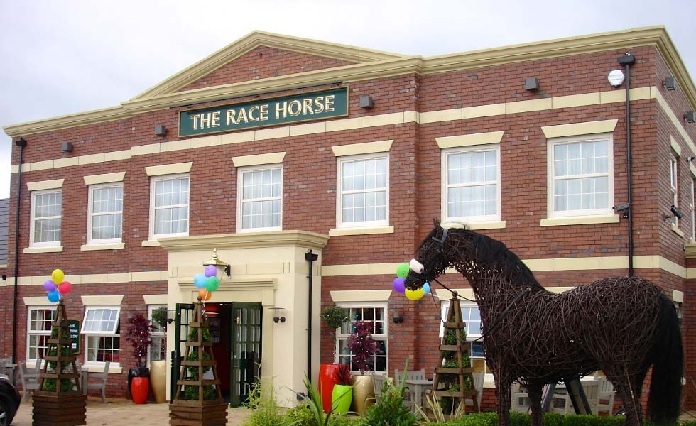 heritage handbridge the race horse furness brick