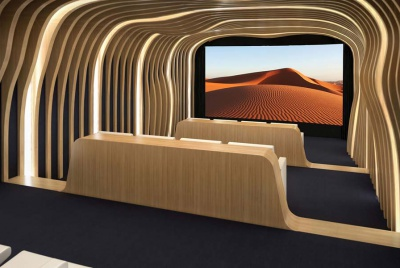 the big picture wooden theatre cinema
