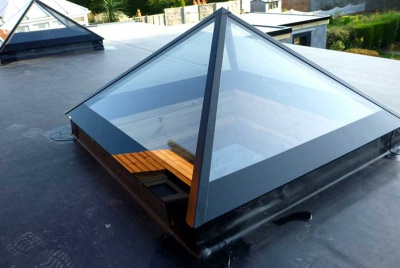 roofmaker pyramid rooflight