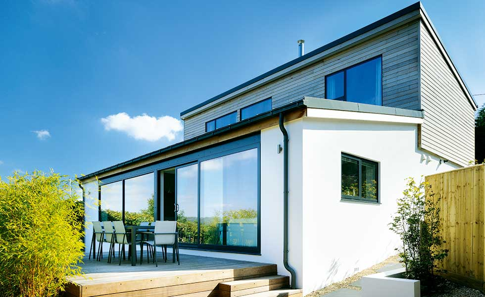 Modern Bungalow Extension And Remodel Homebuilding