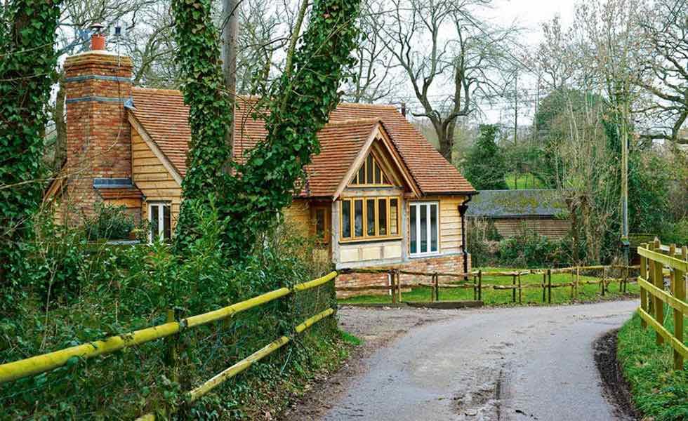 oak frame cottage
