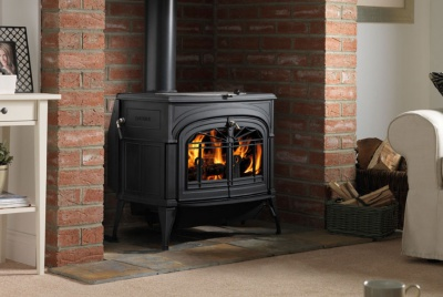 ACR heat products stove fire iron cast fireplace brick surround