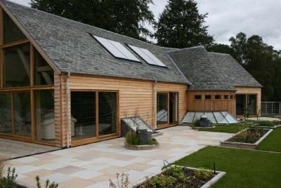 The complete oak home solar panels