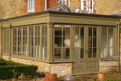 binney sims conservatories green cotswold