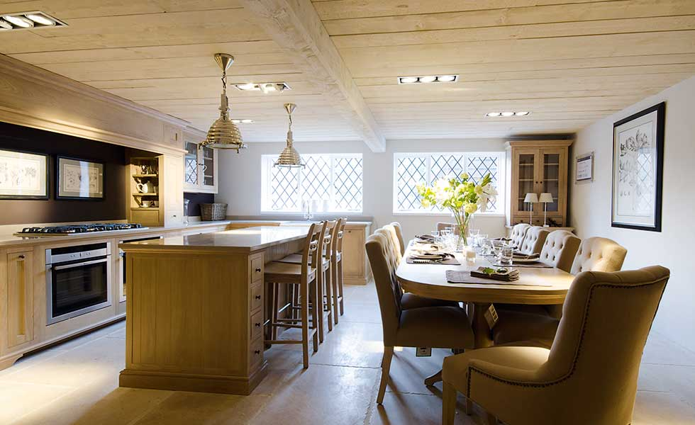 10 top kitchen diner design tips homebuilding renovating for Flooring ideas for kitchen and dining room