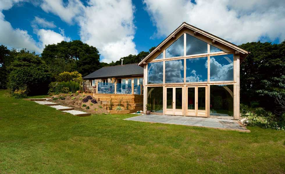 bungalow with large oak extension