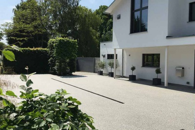 sureset whote house driveway paving