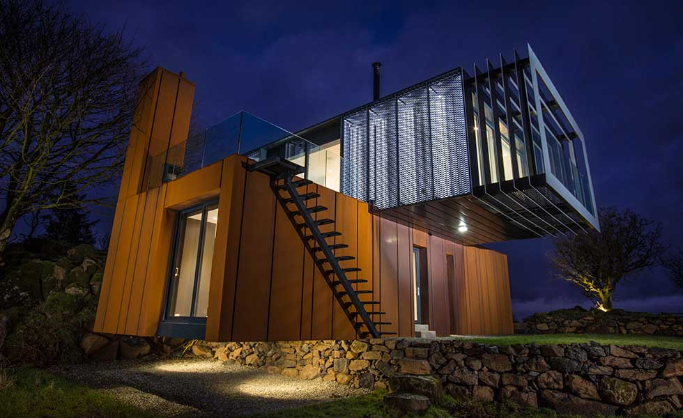 A Unique Shipping Container Home Homebuilding Amp Renovating