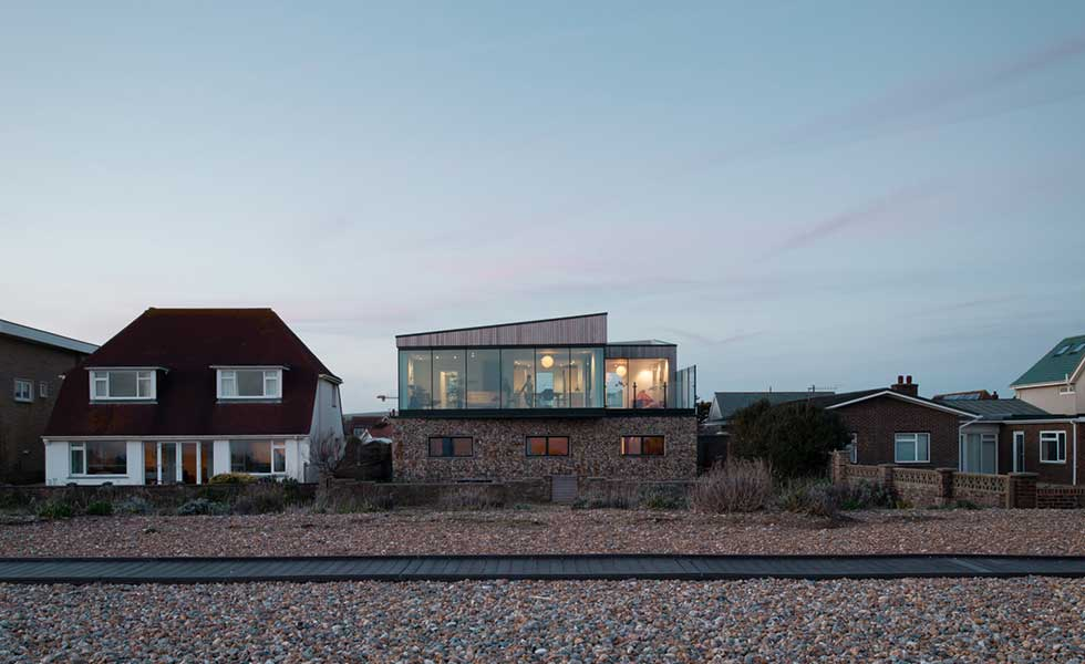 Durisol house Shoreham