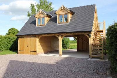 radnor oak outbuilding