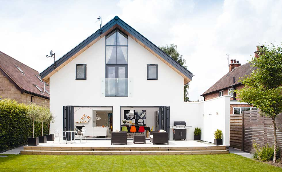 replacement dwellings such as this home built on the site of a bungalow are often more likely to get planning permission