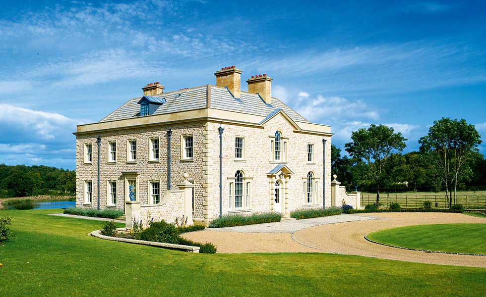 new build stately home